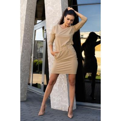 Элегантное короткое платье Ponitama
