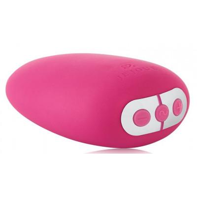 Ярко-розовый клиторальный стимулятор Mimi Soft